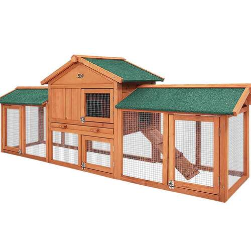 The Manor Timber Pet Coop